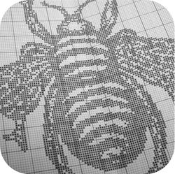 Bee Pattern Card