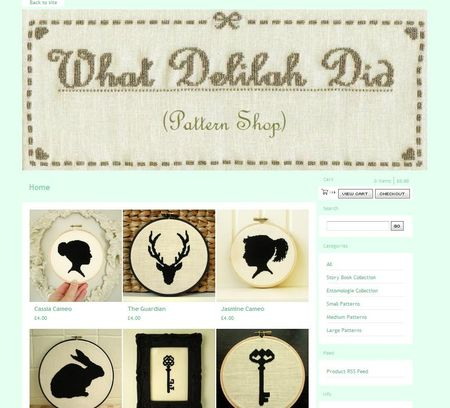 What Delilah Did - Pattern Shop