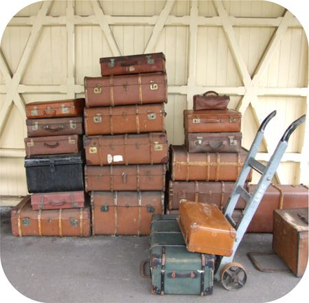 Suitcases and Stations