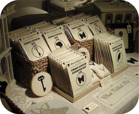 Display - Kits and Pincushions