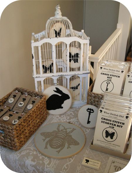 Display - Birdcage and Bee