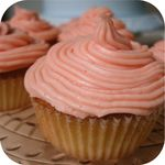 Cupcakes - Piped Pink Icing 1