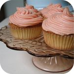 Cupcakes - Piped Pink Icing 2