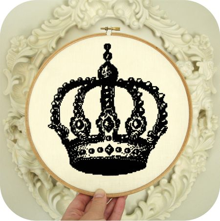 Crown in Hoop