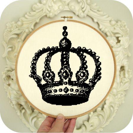 Crown in Hoop