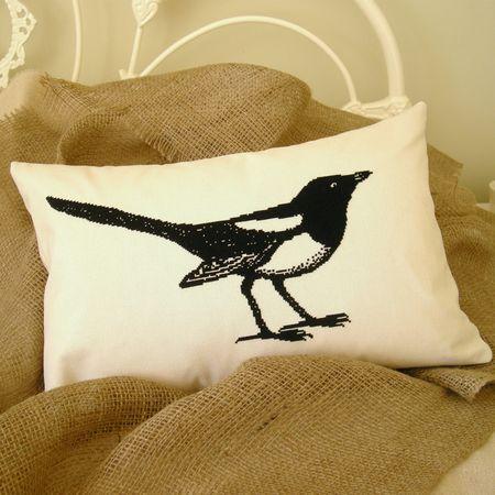 Magpie Cushion
