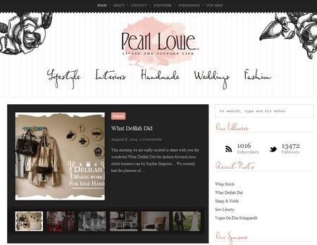 Pearl Lowe Screenshot