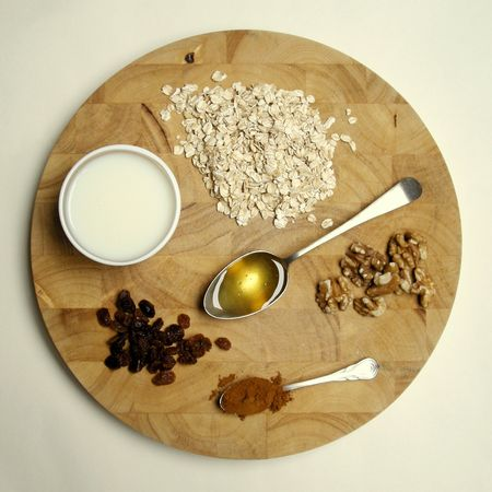 Winter Porridge Ingredients