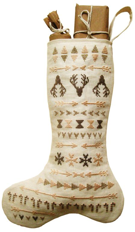 Navajo Fairisle Stocking