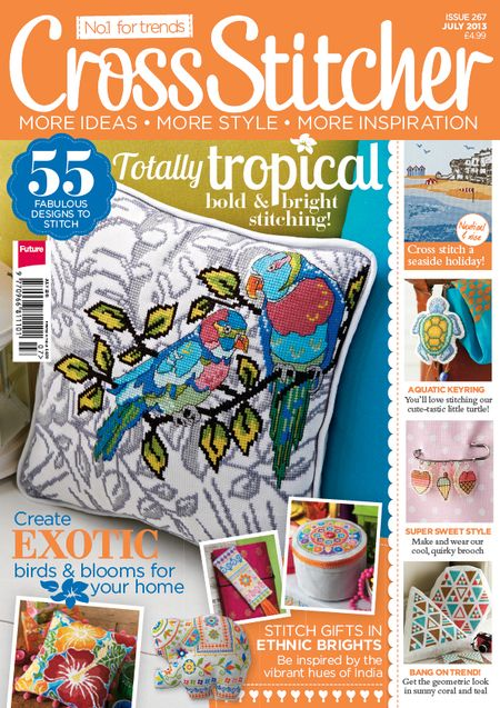 Cross Stitcher Issue 267 Cover