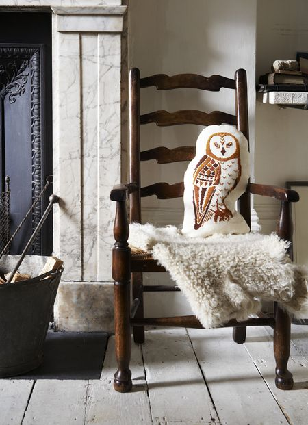 Storyland Cross Stitch - Wise Owl Pillow