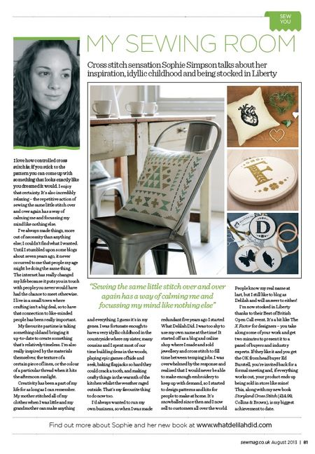 Sew Mag Feature