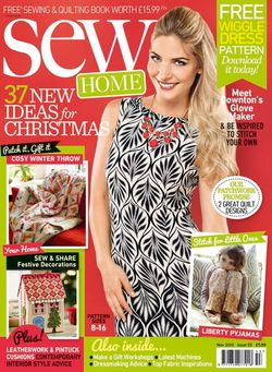 Sew Mag Issue 53 Cover