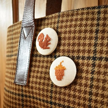 What Delilah Did Squirrel & Acorn Buttons