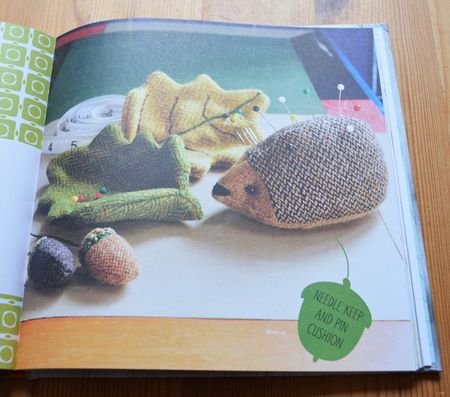 Hedgehog Pin Cushion & Sewing Set
