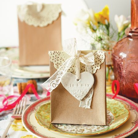 Clay & Lace Favours - Mollie Makes Weddings