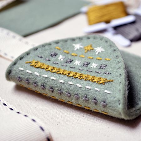 What Delilah Did Counted Thread Embroidery Course - Mini Purse 5