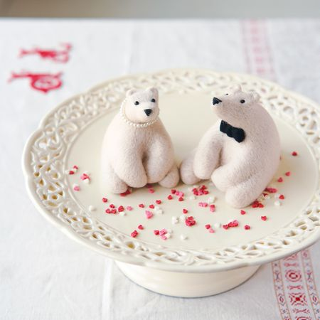 Needle Felt Polar Bears - Mollie Makes Weddings