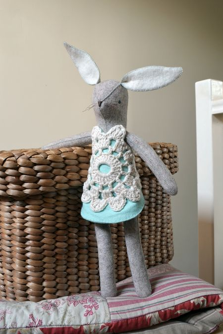 Prim's Pearl Rabbit - Front - small