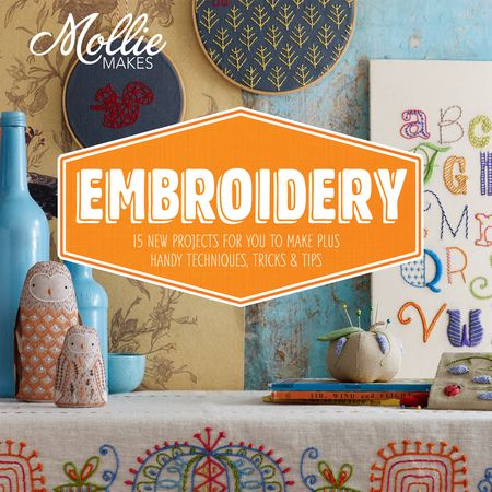 Mollie Makes Embrodiery - Front Cover
