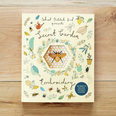 Front Cover - Secret Garden Embroidery - What Delilah Did