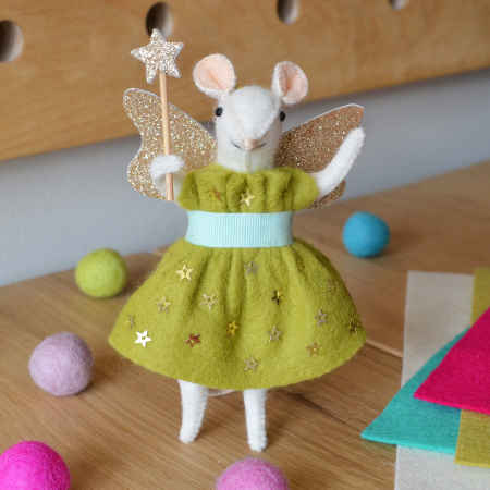 Fairy Godmouse Chartreuse Kit 2016 - What Delilah Did