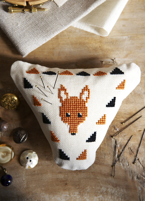 Fantabulous Mr Fox Pincushion